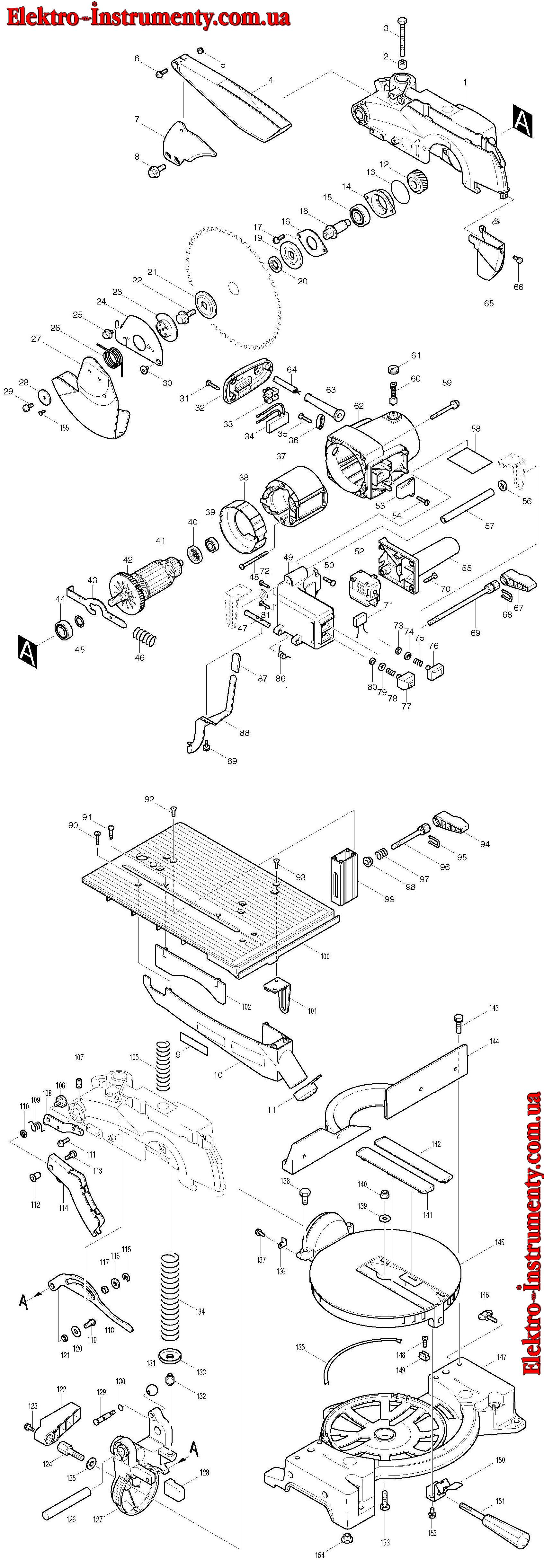 Схемы подключения электропилы