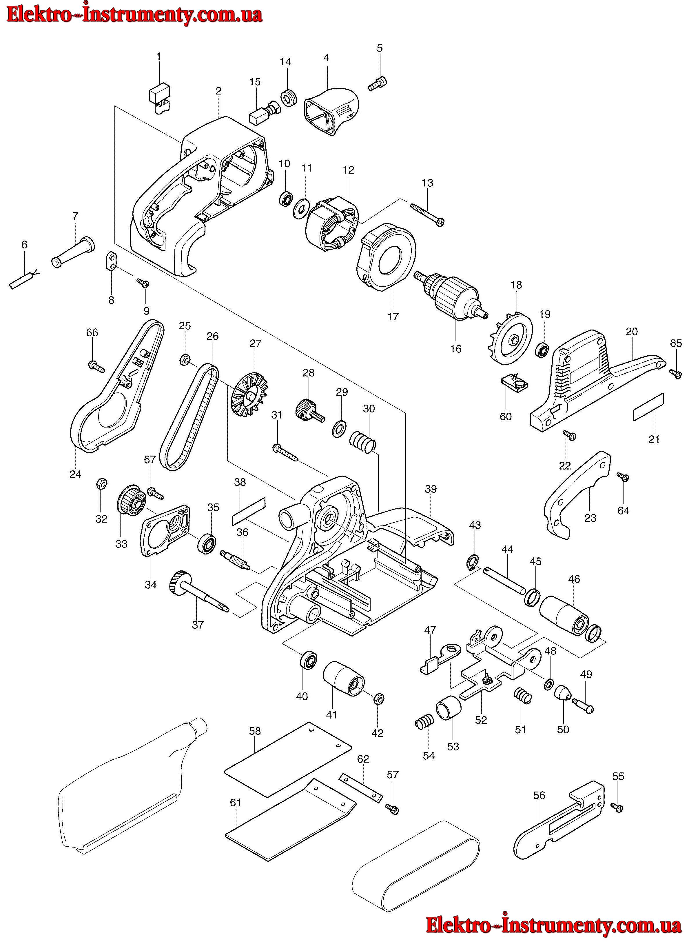 Шлифмашинка макита 9911 ремонт своими руками 55