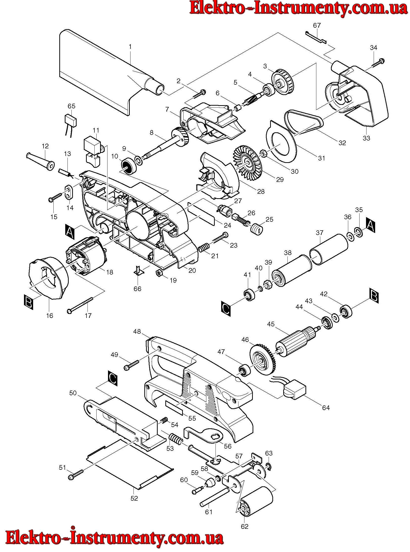 Шлифмашинка макита 9911 ремонт своими руками 50