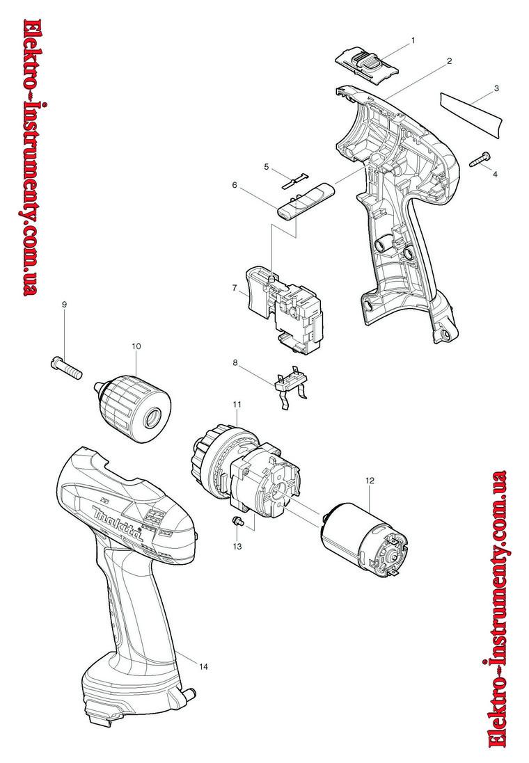 Как сделать Шуруповерт макита ремонт своими руками