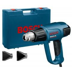 Фен промышленный Bosch GHG 660 LCD с набором