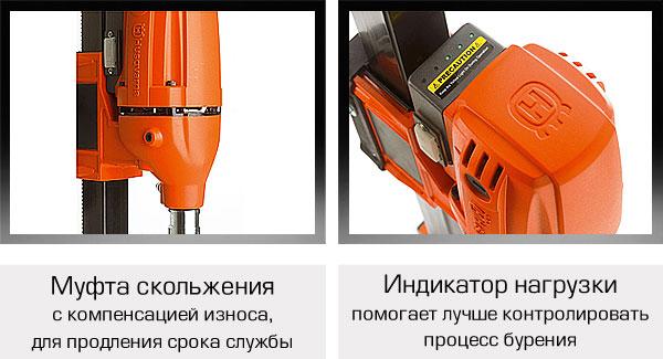 Муфта скольжения и светодиодный индикатор нагрузки бурильной установки